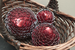Dragon Eggs 19 (icantcu) Tags: dragonegg dragon egg scale scalemail theringlord handycrafts bounceflash diy crafty crafts knit knitting
