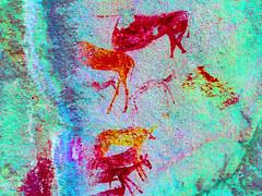 IMG_0082_lxx - Bongani spot 2 (HerryB) Tags: 2017 southafrica afrique afrika sar sonyalpha77 sonyalpha99 tamron alpha bechen fotos photos photography sony herryb mpumalanga rockart rockpaintings peintres rupestres san zeichnungen höhlenmalerei paintings bushmen buschmänner dstretch harman jon jonharman enhance falschfarben restauration bongani lodge mountain bonganimountainlodge spot2