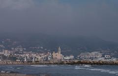 Sitges.Catalonia (Natali Antonovich) Tags: sitges catalonia spain seashore seasideresort seaside seaboard sea architecture church lifestyle water watergravitation landscape