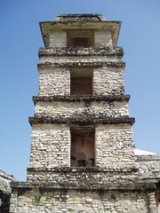 Watchtower, Palenque (Aidan McRae Thomson) Tags: tower mexico ancient ruins mayan palenque archaeological chiapas