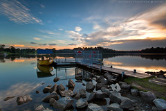 "Jetty (Mhyke Taburada 'Michael Taburada"") Tags: sunset singapore images reservoir pierce lower lowerpiercereservoir lowerpiercereservoirsingapore lowerpiercereservoirsunset michaeltaburadaimages"