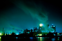 (ogizoo) Tags: factory fuji nightview 1855 fujinon xe1