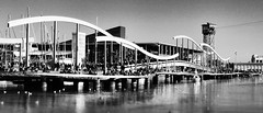 On the Waterfront, Barcelona (CarolynEaton) Tags: barcelona docks aquarium spain nikon europe waterfront harbour eu catalonia boardwalk d7000