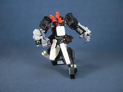 dash! (Messymaru) Tags: original robot lego mecha mech melee moc