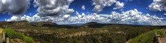 White Moutians Panorama (dim3master) Tags: statepark blue summer cactus sky cliff plants usa brown newmexico southwest green weather rock pine clouds forest canon landscape eos rebel big amazing scenery exposure unitedstates desert time antique dry bluesky best luna tokina soil dirt worn 12 forestpreserve nm decrepit preserve 1224mm deserted 2012 bigrock antiquated battered escarpment americansouthwest conifir tokina1224mm t1i panoramio266980882339458