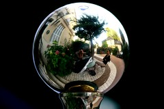 Bowl (kdb²) Tags: france garden french eos hotel mirror jardin reflected reflet miroir tours loire ville loiretcher indreetloire eos1000d
