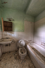 Urbex Nastiness (Jonathan Hartzell / the Archangel) Tags: urban abandoned photoshop nikon raw decay ps fisheye dxo rotten exploration 8mm tiff hdr bower topaz lightroom adjust urbex d90 photomatix cs6