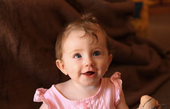 Matilda (Lisa_Moate) Tags: portrait baby cute girl smiling laughing canon child mum precious 7d mummy f28 bub 1755mm