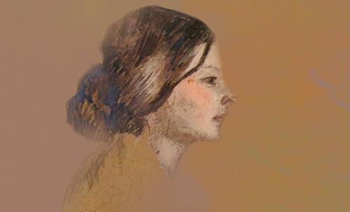 "Las Madeleines escuchando la soleada soledad, descripciones de Henri de Toulouse Lautrec (1889) y Pablo Picasso (1904). • <a style=""font-size:0.8em;"" href=""http://www.flickr.com/photos/30735181@N00/8805117957/"" target=""_blank"">View on Flickr</a>"