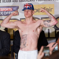 George Groves (paulgmccabe) Tags: uk england sky london english hat sport tattoo george tv fight britain live champion super professional boxer match boxing weighin weight groves kessler bout ppv middleweight supermiddleweight froch