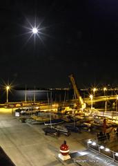 Torquay Harbour under Moonlight (pike head) Tags: uk sea england southwest water harbour olympus devon torquay hdr torbay southdevon 570uz photoengine oloneo
