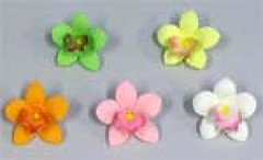 Petite Orchid assorted 3cm (sweetinspirationsaustralia) Tags: cupcaketoppers