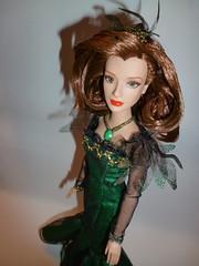 Evanora Doll (Amaranthea) Tags: doll dress emerald ozthegreatandpowerful evanora