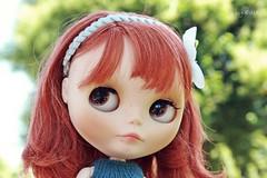 Sally en el parque Lorca.