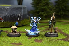 Malifaux 08 HNEN (Blue Table Painting) Tags: blue painting table 08 malifaux hnen