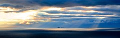 Dramatic Sky Over the Farallones (Renate Flynn) Tags: california sky sunlight clouds contrast canon islands cloudy pacificocean sanfranciscobayarea marincounty sunrays 70300mm dramaticsky canonrebelxt pacificcoast cloudylight faralloneislands renateflynn