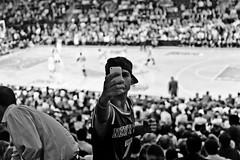 The Fan 2 (IntoTheWild1979) Tags: park new york nyc travel people newyork subway square basket unitedstates metro centralpark manhattan central moma timessquare times viaggi knicks statiuniti