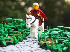 (LCC) Leaving Lenfald (Mark of Falworth) Tags: castle lego scene story epic continues lcc moc loreos