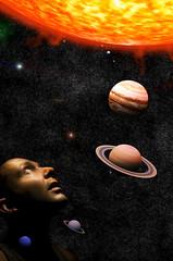 Watch this Space! (Busy Chris) Tags: mars composite photoshop venus mercury earth manipulation planets layers saturn jupiter universe neptune uranus 3dsmax sorryplutoyoumissedoutbyafewyears