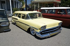 Stranger's BBQ (KID DEUCE) Tags: classic chevrolet car station club wagon antique strangers bbq cc chevy hotrod lowrider streetrod customcar kustom 2013
