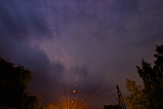 . 10.08.2013 (Sasha_mac) Tags: trees sunset sky storm color nature clouds nikon tour russia moscow overcast powerline lantern lightning 18105      d90