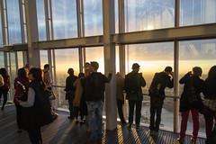 Sun worshipers (Alex Woodgate) Tags: sunset london shard viewfromtheshard