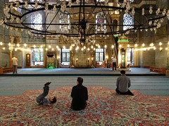 New Mosque, Istanbul (portable_soul) Tags: muslim islam pray praying mosque allah moslem shalat musholla baitullah