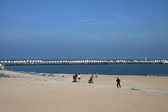 Charlie Chaplin is back (Dimormar!) Tags: sea beach strand pier belgium noordzee belgi zee oostende charliechaplin samenmetirma