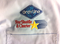 #Embroidery (bigstarbranding) Tags: shirt star big dress embroidery gray line shuttle embroidered branding buttonup embroider bigstarbranding