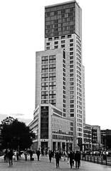Waldorf Astoria Hotel Berlin (xfoTOkex) Tags: travel blackandwhite bw white black berlin tourism germany hotel blackwhite nikon platz waldorf tourist astoria sw tamron tourismus travelphotography 18270 d5100 breitscheit