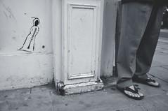 Fashion Police (Darren Johnson / iDJ Photography) Tags: street uk white black brick london art fashion photography photo photographer image photos sandals police images flip lane flops idjphotography