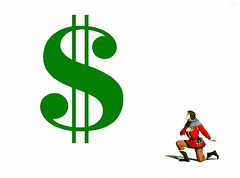 Reverent (AK Rockefeller) Tags: life money sign collage respect symbol politics honor bank medieval cash creativecommons dollar government profit banking dollarsign genuflection genuflect