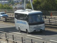 BMC 2T (Cammies Transport Photography) Tags: bus coach glasgow m8 flyover coaches bmc bains anderston bmc2t
