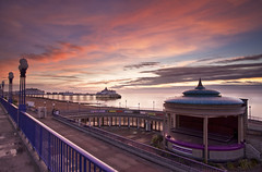 Eastbourne October Sunrise (JamboEastbourne) Tags: sea england sunrise sussex pier east eastbourne seafront bandstand