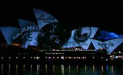 Sydney Opera House Laser Show (Greenstone Girl) Tags: fireworks sydneyharbour laserlightshow internationalfleetreview