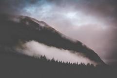 glencoe clouds, scotland (missmckee) Tags: sky mist mountain misty fog clouds digital canon photography scotland highlands cloudy hill foggy scottish hills glencoe redsky cloudcover scottishhighlands canont2i