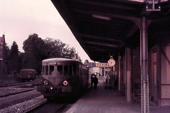 Once upon a time - Grand Duchy of Luxembourg - Diekirch (railasia) Tags: station luxembourg seventies infra cfl diekirch