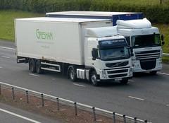 PO62 XFZ (Cammies Transport Photography) Tags: truck volvo lorry fm gresham flyover globetrotter m74 lockerbie po62xfz
