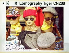 hat stall (pho-Tony) Tags: germany lomography brighton tiger 110 127 german pocket agfa makro 16mm sensor instamatic cartridge bigredbutton c41 agfamatic subminiature f27 5008 tetenal solinar agfamatic5008makropocket cn200 lomographytigercn200 lomographytiger agfamatic5008