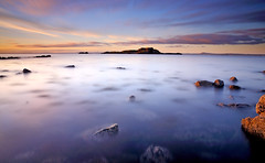 Full House (RF-Edin) Tags: longexposure sunset seascape scotland nikon edinburgh day lee yellowcraig dirleton pwpartlycloudy