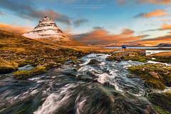 A photographer's story (TomNC) Tags: mountain iceland stream kirkjufell