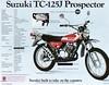 1972 Suzuki TC125J brochure