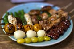 焼き鳥 14 本セット (mijabi) Tags: japan cuisine japanese tokyo ginza 日本 東京 銀座 yakitori washoku 焼き鳥 和食 日本食