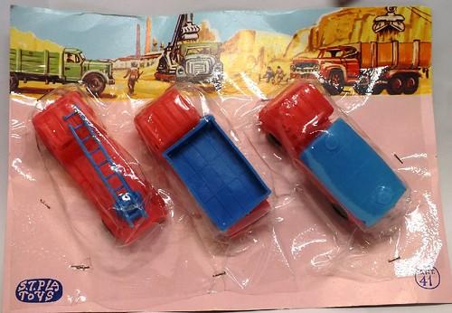 S.T.Pla Toys Lancia Esadelta