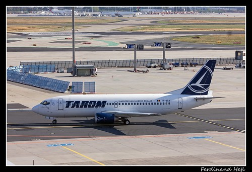 Boeing B737-38J_YR-BGA_Tarom_Frankfurt - Rhein-Main International_Germany
