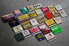 Matchbooks a plenty