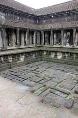Angkor Wat - Angkor, Cambodia (Petitecornichon) Tags: temple cambodia vishnu khmer buddha buddhist buddhism angkorwat mount ii siemreap angkor hindu hinduism mythology angkorthom meru templemountain vara templecity mountmeru devas basreliefs 2013 suryavarman devatas suryavarmanii shaivism cityoftemples yasodharapura preahpisnulok vishnuloka galleriedtemple jagati