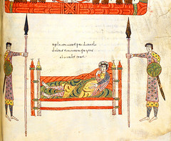 "The sleepless king Nebuchadnezzar (petrus.agricola) Tags: london de daniel library den apocalypse add ms jerome british silos hebrew furnace fiery commentary liebana nebuchadnezzar beato beatus belshazzar 11695 lion's ""add 11695"""