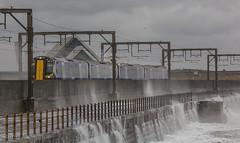 IMG_8851_adj (md93) Tags: winter storm train waves scotrail spray promenade rough saltcoats sandylands