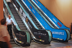 Entertainment, Woverine, Grown Ups 2, for CinemaCon at Caesars Palace, Escalator Graphics
